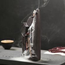 Ornament-Accessories Censer Back-Cone Teahouse Ceramic Home-Decor Creative Smoke Watch