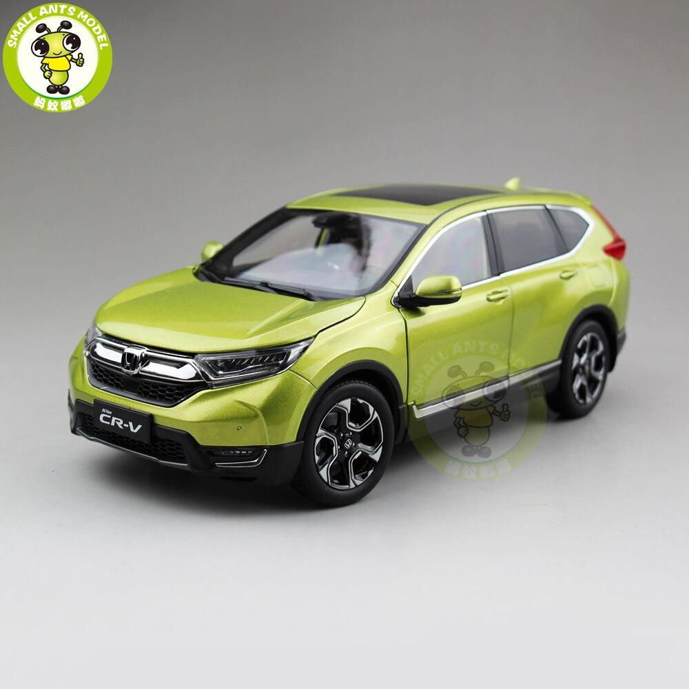 1/18 ฮอนด้า CRV ใหม่ CR V SUV Diecast โลหะรถ SUV รุ่นของเล่นสำหรับเด็กของขวัญเด็กผู้หญิงคอลเลกชันงานอดิเรกสีเขียว-ใน โมเดลรถและรถของเล่น จาก ของเล่นและงานอดิเรก บน   1