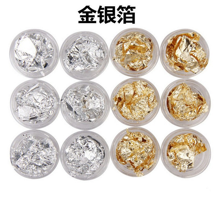 Holographic Flakes Set Of 12 Sparkly And With Amazing Special Effects Flakes For Resin Or Nail Art 12 Colors Flakes HYT4 MJ in Nail Glitter from Beauty Health