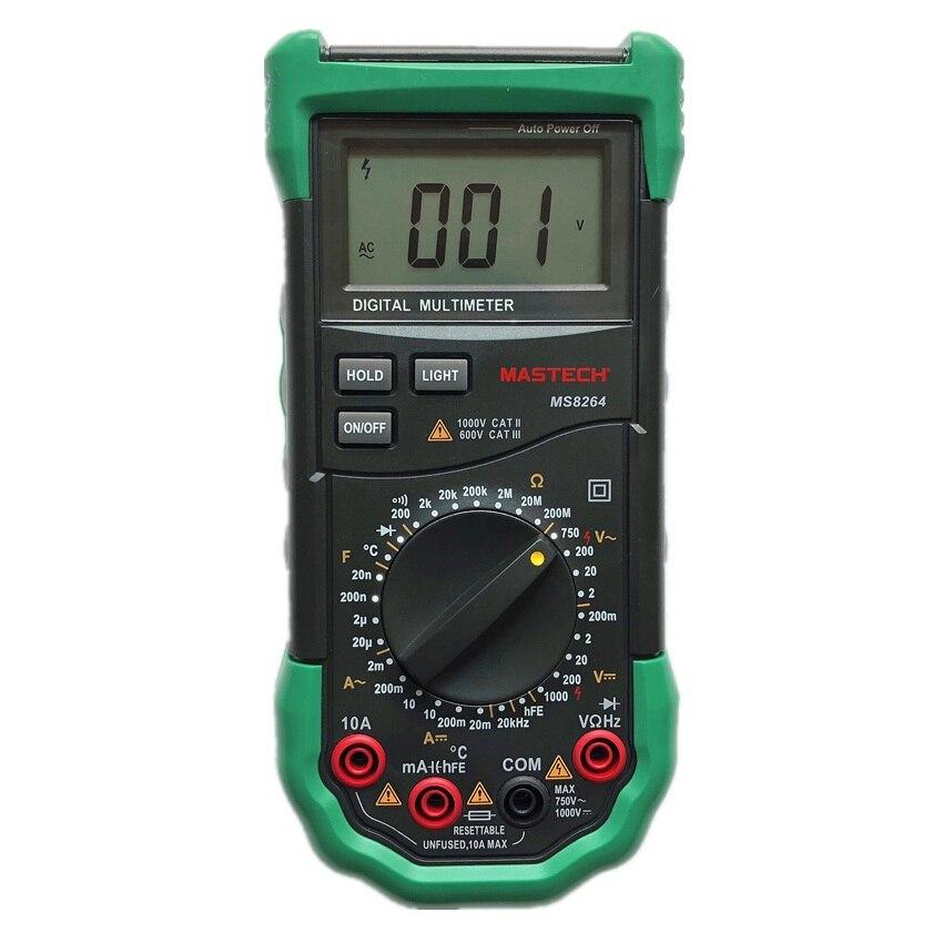 Meter 6013 Capacitance Capacitor Tester In Circuit Multi Testers