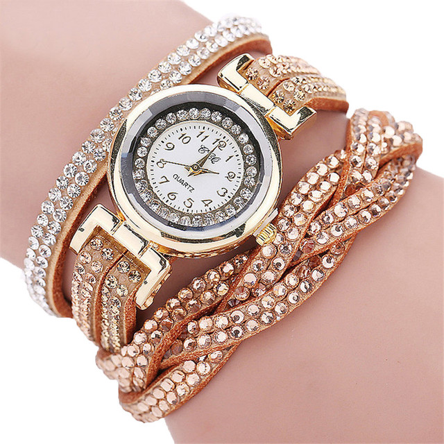 CCQ New Fashion ladies watch Luxury Ladies Dress Bracelet Watches Quartz Watch C