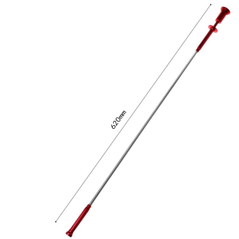 magnet + 4 Klaue + Led Licht Magnetische Lange Frühling Grip Hause Wc Gadget Kanalisation Reinigung Pickup Werkzeuge Flexible Pick Up Werkzeug