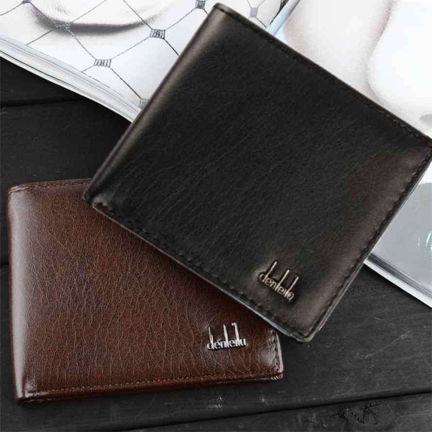 MOLAVE wallet high quality Men Bifold Business Leather Wallet ID Credit Card Holder Purse Pockets wallet men leather feb6