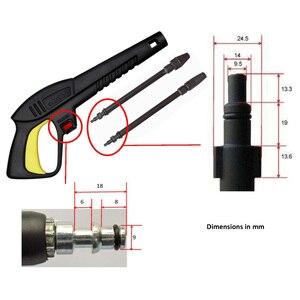 Image 4 - Myjka ciśnieniowa pistolet lanca dysza myjnia samochodowa Jet pistolet do rozpylania wody różdżka dysza pistolet do Lavor Vax Craftsman Generac oleo mac