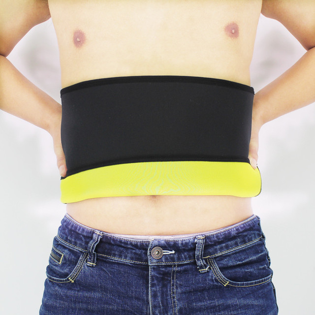 Shapers Belt Men Body Shapers Compression Waist-Trimmer Belts Neoprene Abdominal Slimming Belt Sweat Sauna Trainer Corset