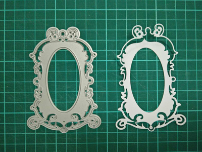 Mirror Metal Die Cutting Scrapbooking Embossing Dies Cut Stencils Decorative Cards DIY album Card Paper Card Maker m word hollow box metal die cutting scrapbooking embossing dies cut stencils decorative cards diy album card paper card maker