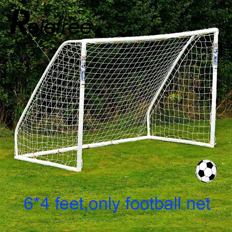 Relefree 1,8X1,2 Mt 6x4 FT Fußball Net Pvc-fußball-torpfosten Net Trainingsspiel Junior Polypropylenfaser Net