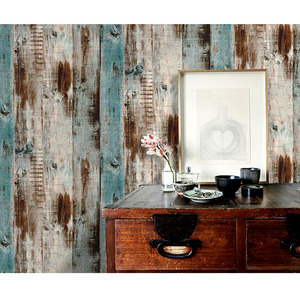 Image 2 - Rollo de papel tapiz de madera de vinilo autoadhesivo de PVC impermeable para sala de estar, cocina, habitación de niños, paredes, papel de contacto de madera