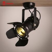 Modern 5W LED Track Light Rail Spotlight LED bulb 220V 110V cold/warm white spot fixture lamp home decor for shop free shipping