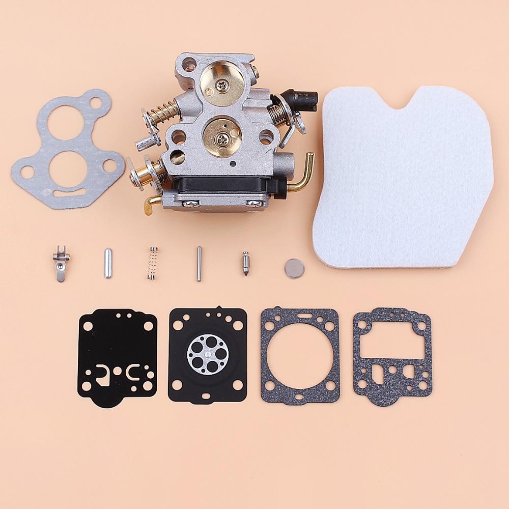 Carburetor Air Filter Carb Repair Kit For HUSQVARNA 235 236 240 235E 240E 236E Mcculloch CS340 CS380 Chainsaw Parts 545072601