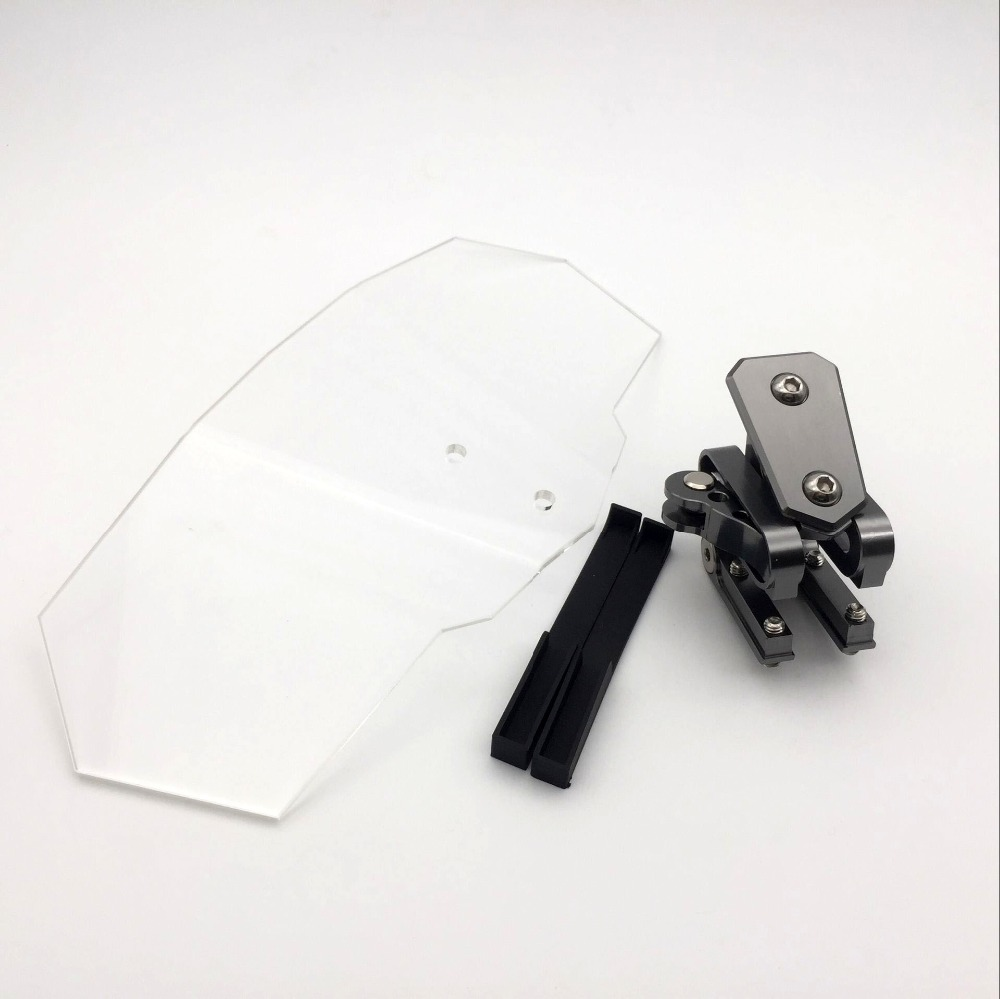 motocicleta para kawasaki windshield ventosa ajustavel universal brisa 04