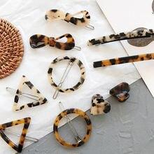 Xiyanike 1 шт набор заколок в Корейском стиле с леопардовым