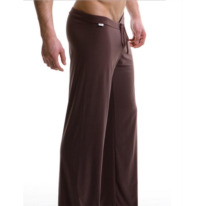 Sleep Bottoms Men's Pajama Casual Trousers Soft Comfortable Male Man Homewear Pants Loose Lounge Clothing Sleeping Sleepwear
