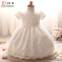 Baby Girl Dress Tutu Lace Princess Girls Clothes Flowers Toddler Girl Christening Gown Baby Dresses For
