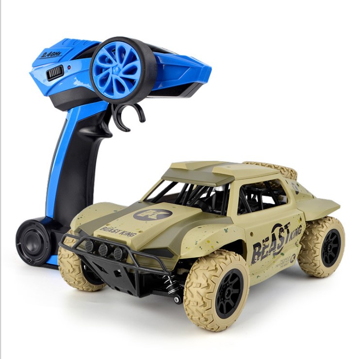 RC Car 2.4G 25KM/H High Speed Remote Control Car 1:18 Short Truck RC Toys 4WD Off- Road Vehicle