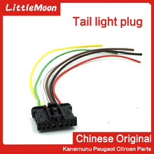 купить LittleMoon Taillight plug Rear taillight plug Rear lamp plug for Peugeot 206 307 308 408 508 3008 Citroen C2 C4 C5 Triumph недорого