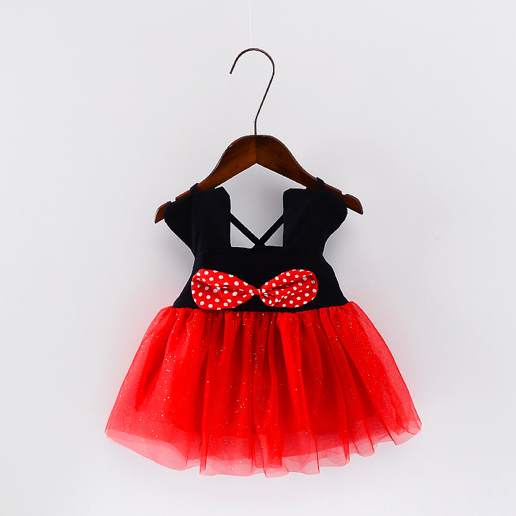 Подробнее о Baby Minie E Mickey Girl Dress Princess Dot Kids Clothes Bow Minnie Mouse Dresses For Girls Birthday Party And Wedding 2017 DS6 children costumes for girls sweet princess dress baby girl school dresses for birthday party long sleeved bow girl kids clothes