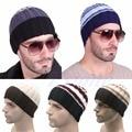 9 Styles Fashion Women's Men's Hat Unisex Warm Winter Knit Cap Outdoor Sports Ski Hats Hip-hop Stripe Beanies  Hats