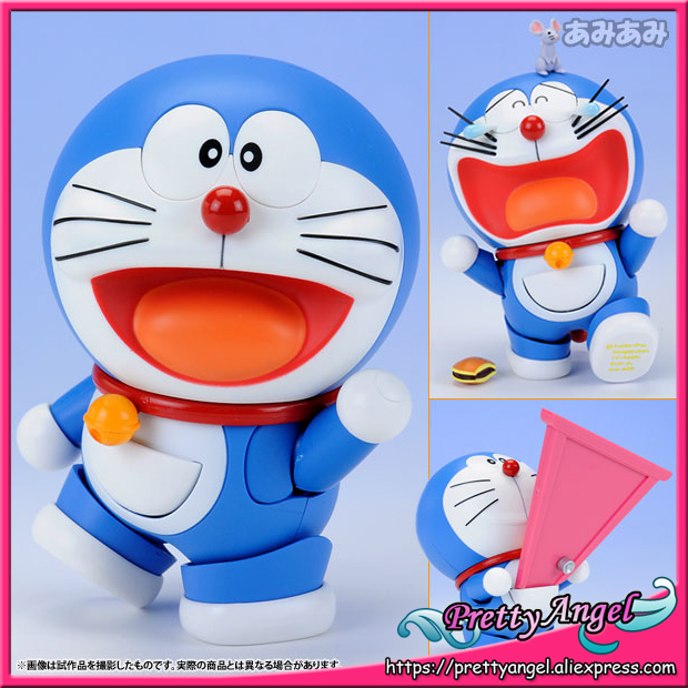 Japan Anime Original Bandai Tamashii Nations Robot Spirits No.103 Doraemon Action Figure - Doraemon original bandai tamashii nations robot spirits exclusive action figure rick dom char s custom model ver a n i m e gundam