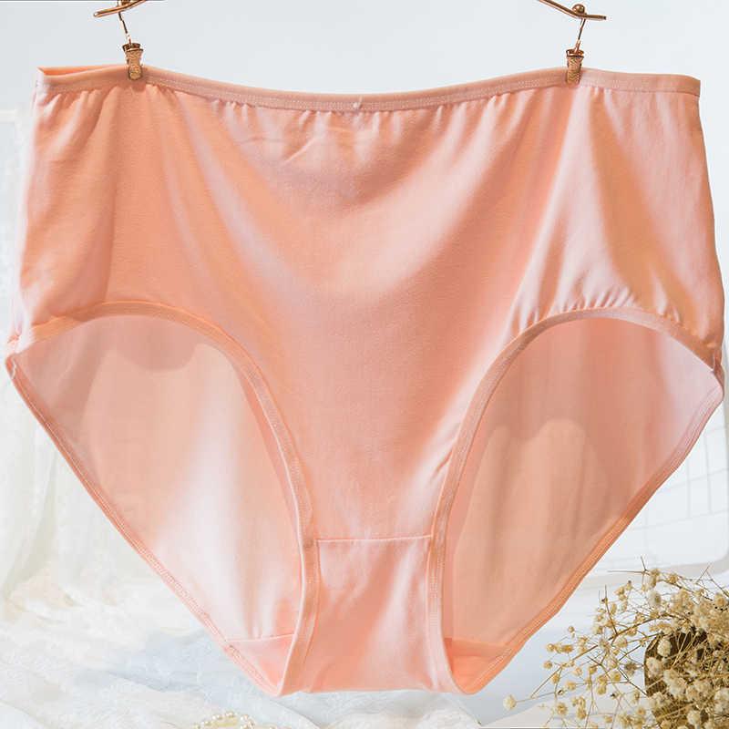 Kapas Celana Dalam Wanita Celana Dalam Ropa Interior Femenina Plus Ukuran 7XL Ukuran Besar Ibu Pakaian Dalam Wanita Celana Dalam