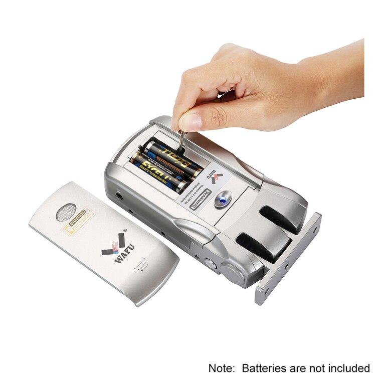 Wafu телефон контроль Отпечатков пальцев Контроль замки WF 018 беспроводной пульт дистанционного управления интеллектуальный замок электронн... - 4