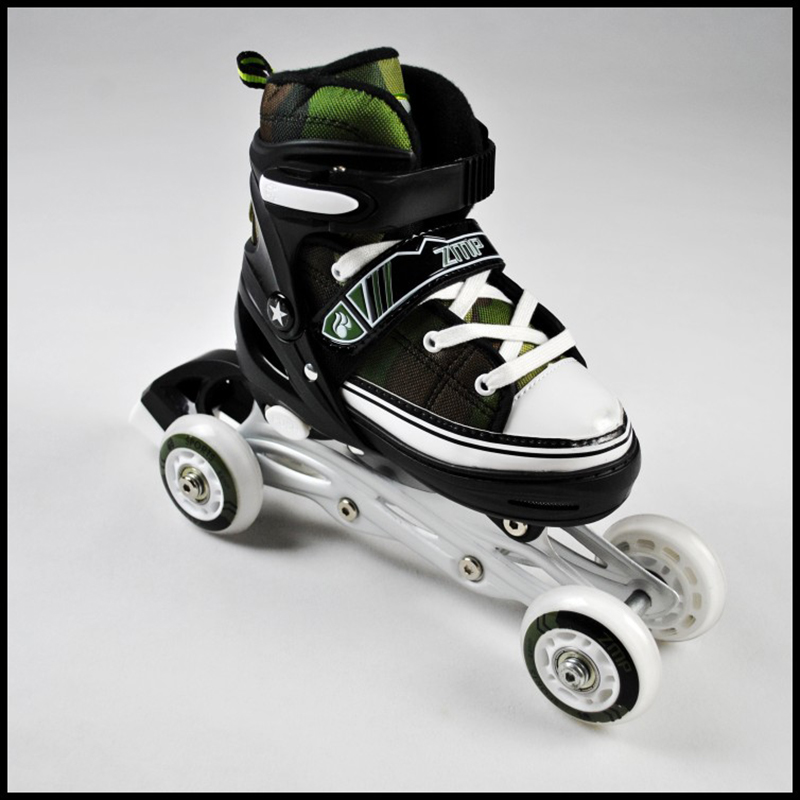 free shipping children skate shoes safe design hk sports 2 in 1 extreme sports skate