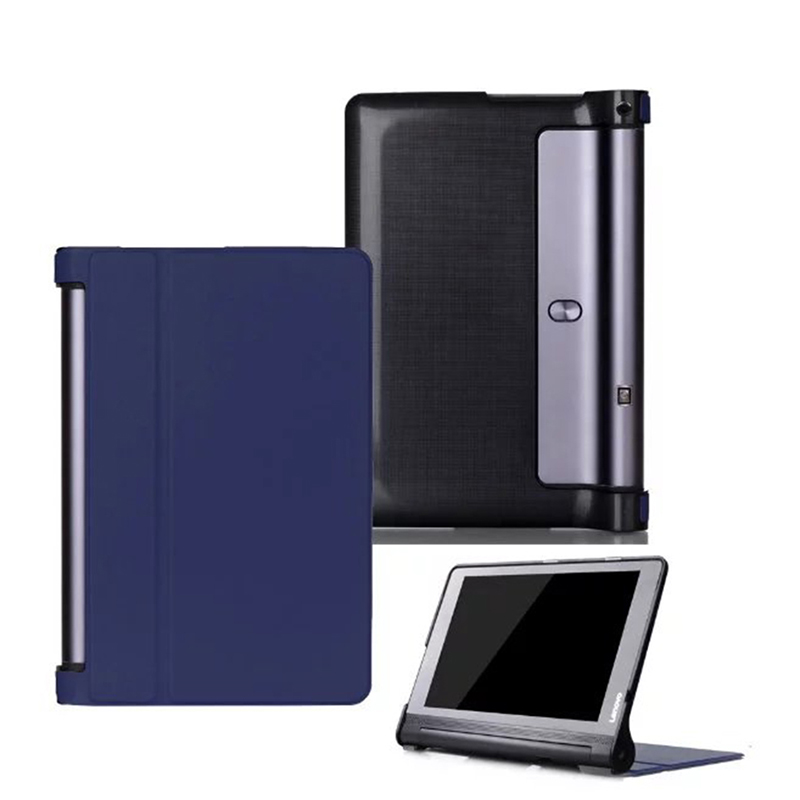 For YOGA Tab3 Plus YT-X703 Tab 3 Pro Flip Smart Case Cover For Lenovo yoga3 pro 10.1 X90 x90l x90f Tablet Case PU Leather Cases ultra slim soft silicon case for 10 1 inch lenovo yoga tab 3 pro 10 x90m x90l case for lenovo yoga tab 3 plus yt x703f