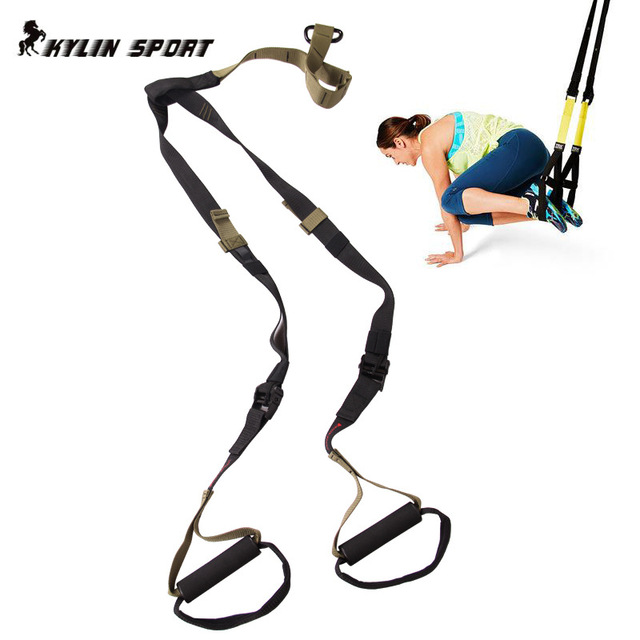military fitness resistance bands hanging training strap exercise