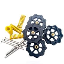 4PCS 3D Printer Accessories CR10 Hot Bed Leveling Nut Ender3 Hand Screw Spring M4 Kit