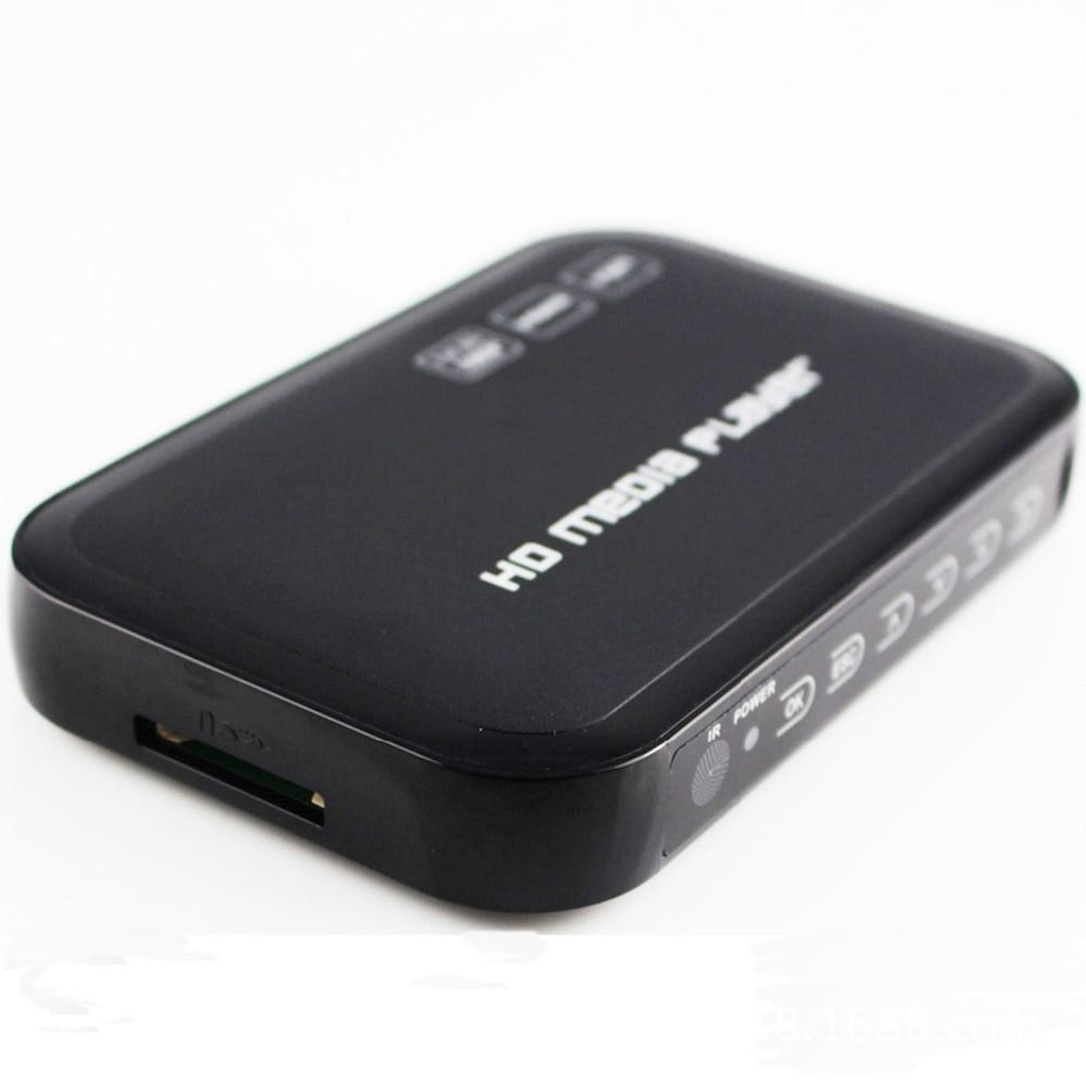 Redamigo HDD проигрыватель мини-полный HD1080p H.264 MKV HDD HDMI Media Player Центр USB OTG SD AV ТВ AVI RMVB rm HD601R