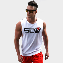 Brand Gyms Clothing Fitness singlets Men Tank Tops Mens Bodybuilding Stringers Tanktops workout MMA Sporting Sleeveless Shirt