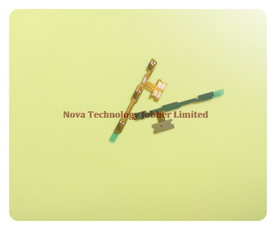 Wyieno Enjoy 7S Switch On/off Volume Ribbon For Huawei P Smart FIG-LX1 Power Button Flex Cable Replacement Parts + Tracking
