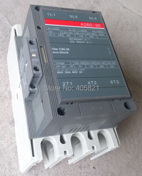 A260-30 AC contactor 3Pole magnetic contactor