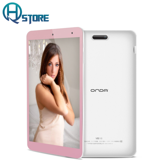 Onda V80 SE 8 Inch Tablet PC Intel Z3735F WIDI + 4K 2GB RAM+ 32GB eMMC ROM IPS 1920X1200 support 128GB TF card Android 5.1