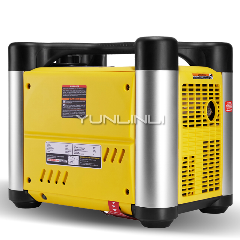 Gasoline Generator 2KW220V Home RV Outdoor Small Digital Inverter Portable Multi purpose Ultra quiet Generator 72301i