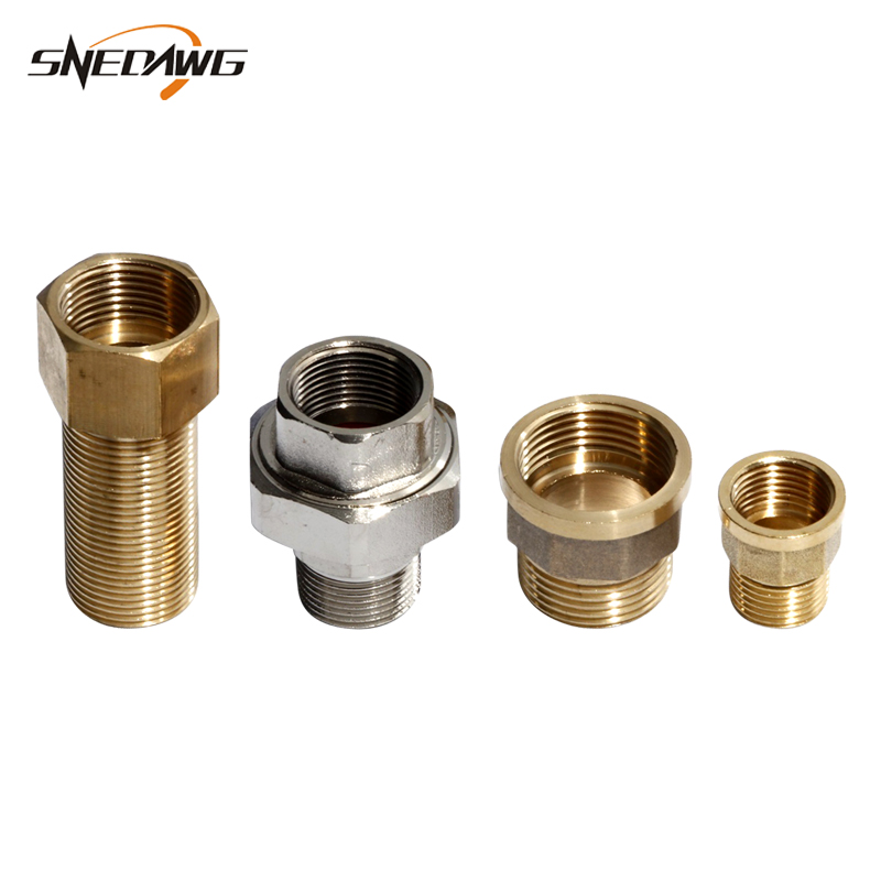 Extension <font><b>Pipe</b></font> Fitting 20/25/<font><b>32mm</b></font> Male Female Thread Exchange Water <font><b>Pipe</b></font> Joint 1/2'' 3/4'' 1'' Brass <font><b>Pipe</b></font> Fitting Connector image