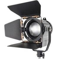 Ashanks 100 Вт светодиодный прожектор затемнения двухцветный фары Studio Френеля свет 3200 5500 К для студия фото видео Освещение