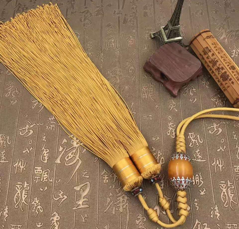 Kun Master, прочный тай-чи или кунг-фу, меч с кисточками, боевые искусства, жесткий верный меч с кисточками, 5 цветов