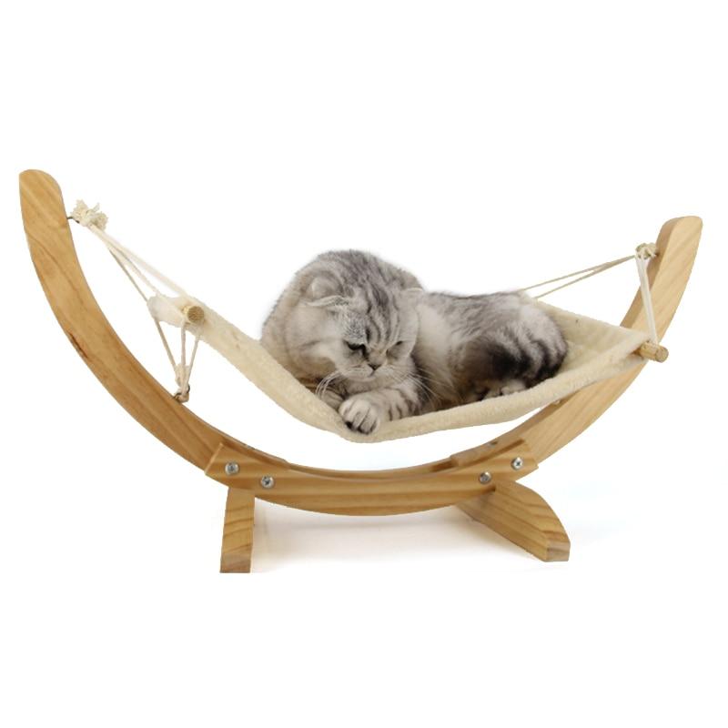 the hammock bambu head green pet