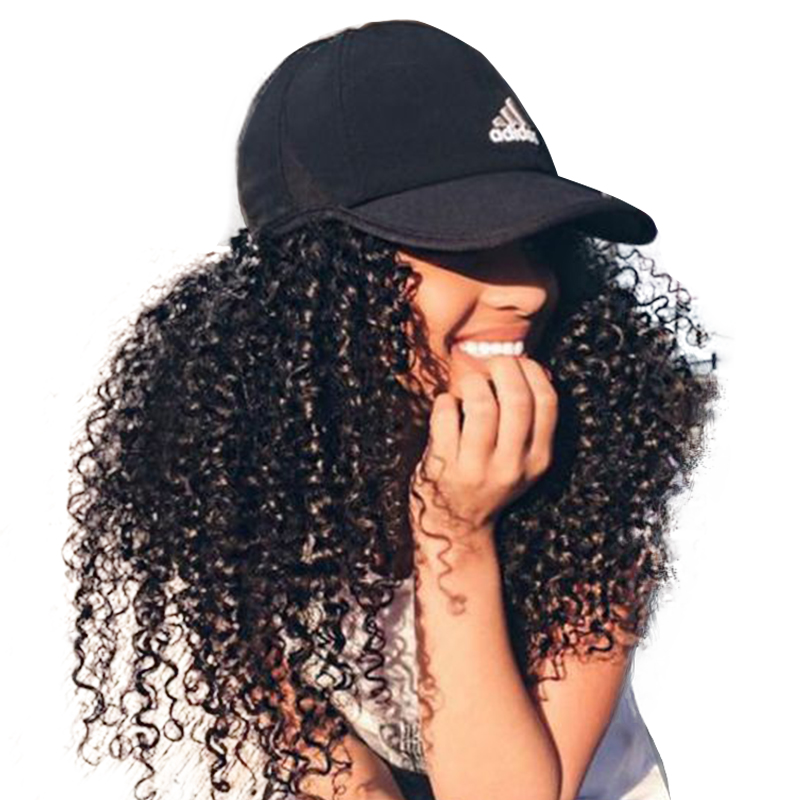 Kinky Curly 130% Density Lace Front Human Hair Wigs Brazilian Remy Hair With Baby Hair Honey Queen