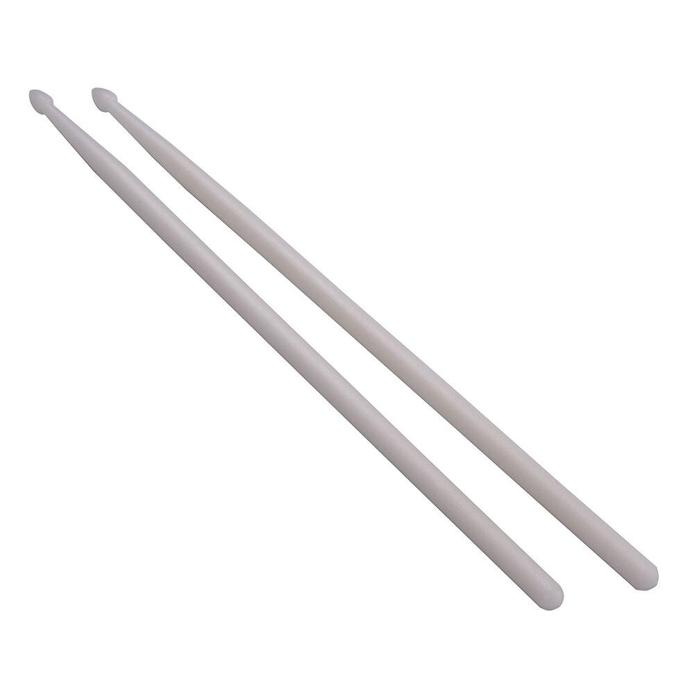 one pair of 5a fluorescent drumsticks nylon drum sticks drum set accessories in parts. Black Bedroom Furniture Sets. Home Design Ideas