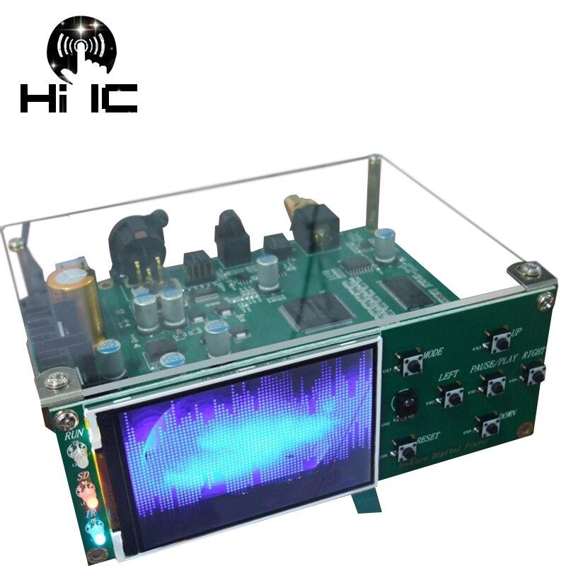 HIFI Audio Digital Linear Tape DLT FPGA Lossless Digital Turntable Player SD Card APE FLAC WAV