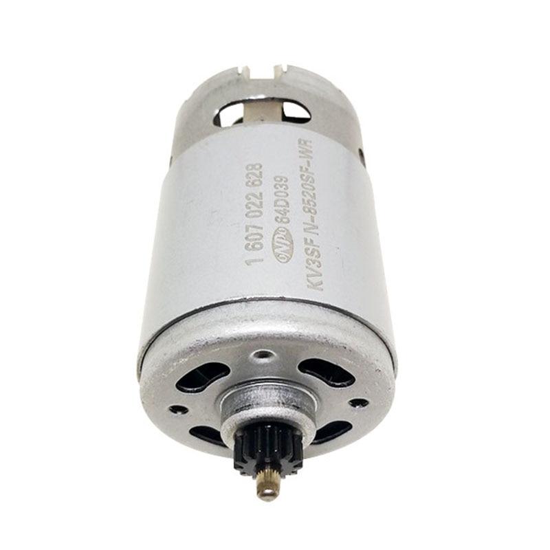 ONPO 12V 13 teeth KV3SFN-8520SF DC GEAR motor for BOSCH GSR120-LI(3601JF7000) electric drill Screwdriver maintenance spare partsONPO 12V 13 teeth KV3SFN-8520SF DC GEAR motor for BOSCH GSR120-LI(3601JF7000) electric drill Screwdriver maintenance spare parts