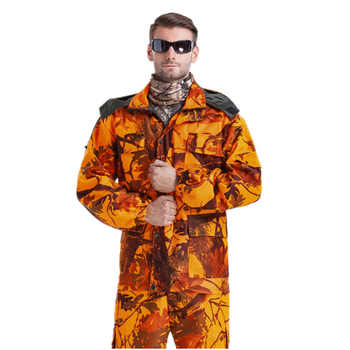 Wholesale MULTICAM Uniform Bionic Camouflage Tactical Suit Orange Plus Size Sniper Suit Hunting Waterproof Clothing L~4XL CF1 - DISCOUNT ITEM  0% OFF All Category