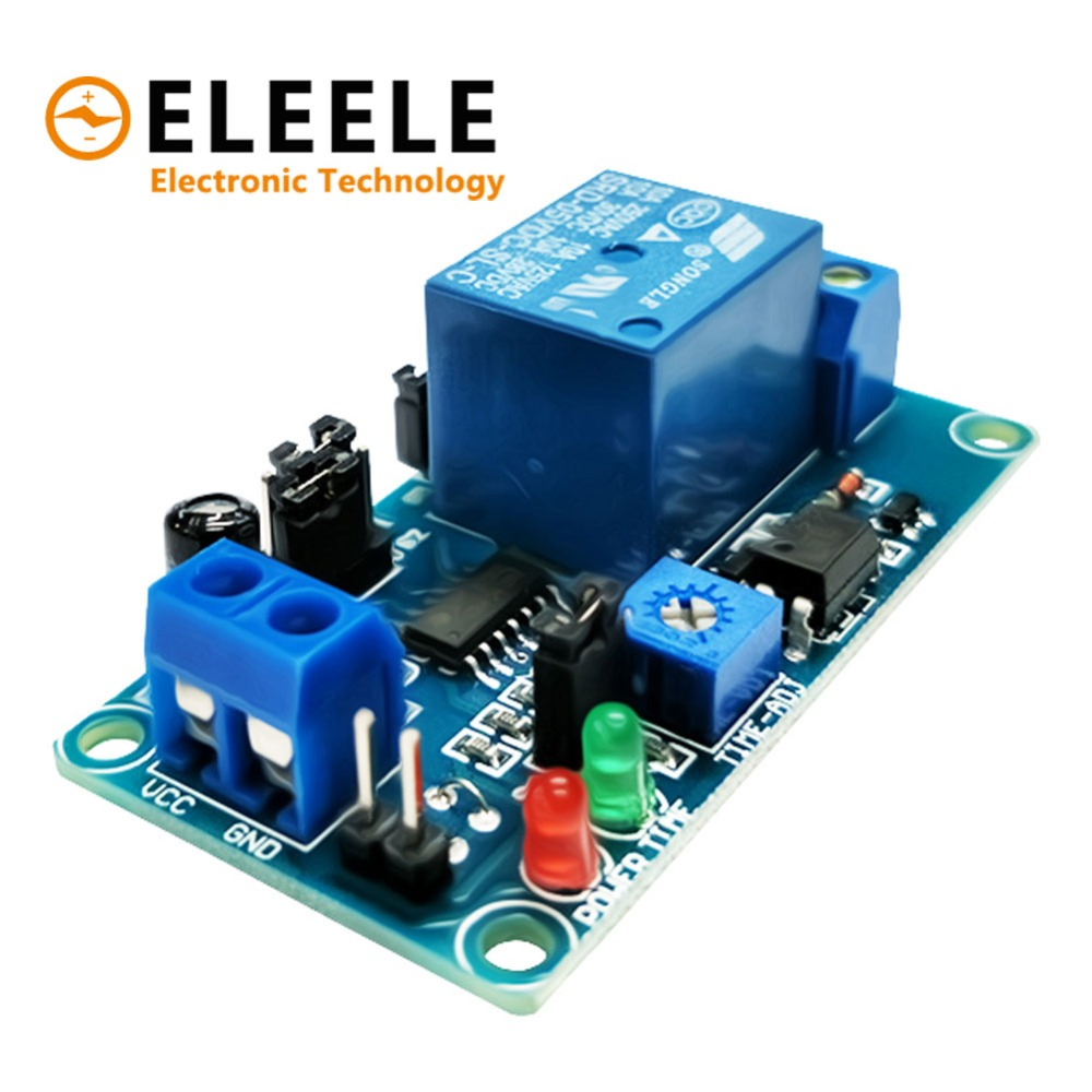 Ne555 Relay Dc 12v Timer Adjustable Delay Turn Off On Switch Time 1pcs Module Smart Electronics With