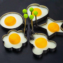 1PC Stainless Steel Toast Convenient Sandwich Cake Cookies Eggs Molds Fruit Salad Moulds