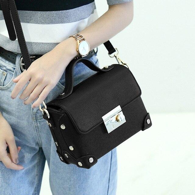 Aliexpress.com : Buy Small Handbag Womens Black Tote Bag Fashion ...