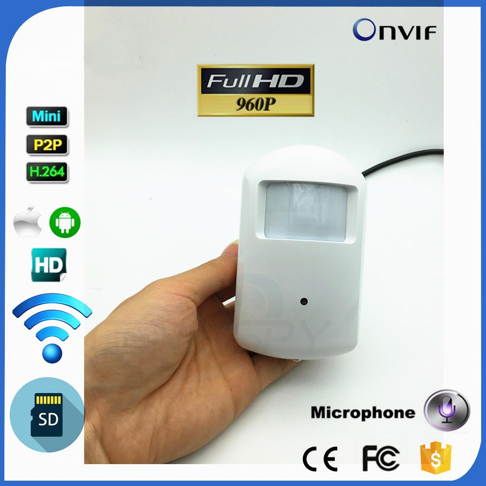 960P Mini IP Camera With WIFI Port Mini Camera Motion Detector HD PIR Wireless IP Camera Wifi P2P Security TF Audio