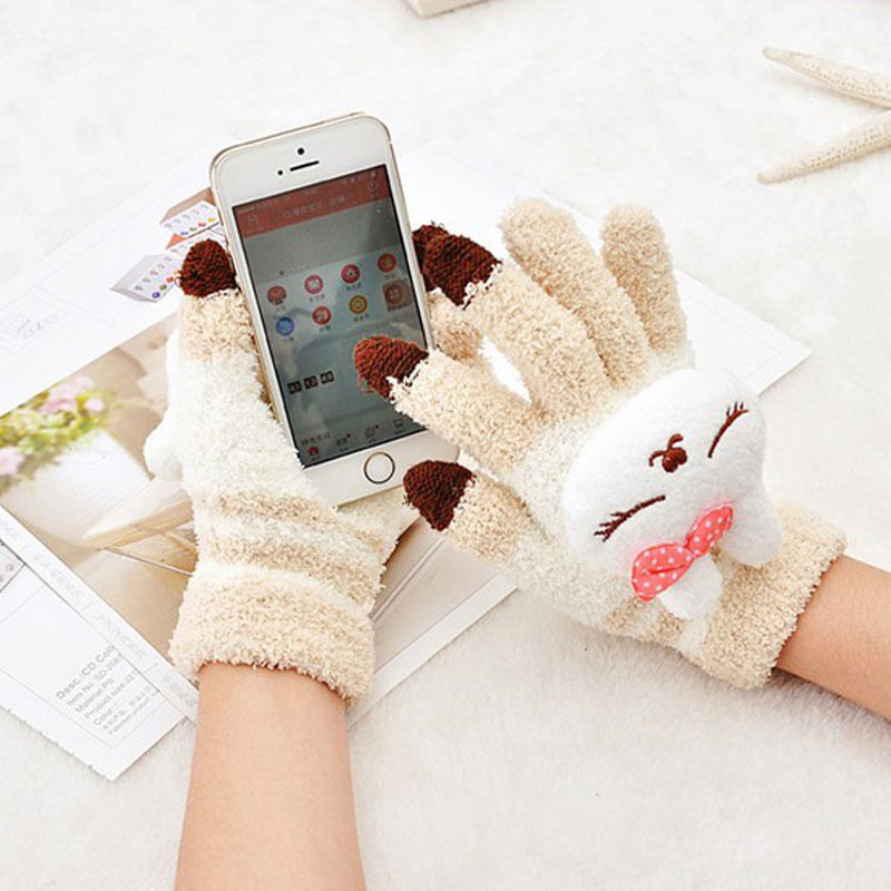 1 Pair New Arrival Smart Phone Gloves For Winter Use Cell Phone Gloves Touch Screen Gloves