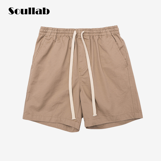 24f986a2 5 colors in stock pure solid candy color men bottom shorts drawstring  summer beach clothing urban ootd fashion casual streetwear